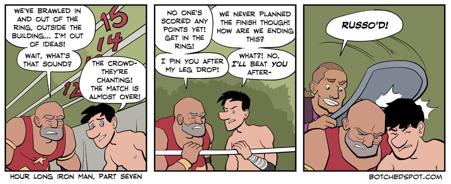 Hour Long Iron Man, Part Seven