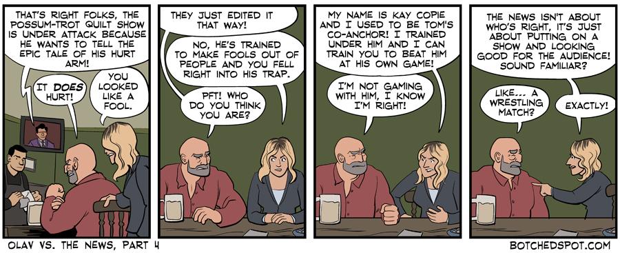 Olav vs. the News, Part 4