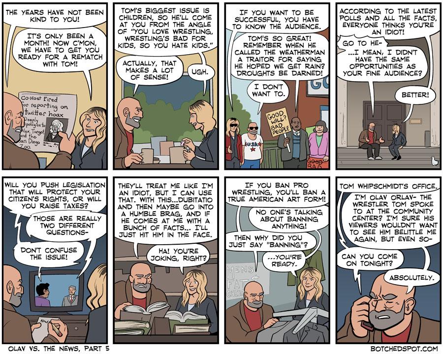 Olav vs. The News, Part 5