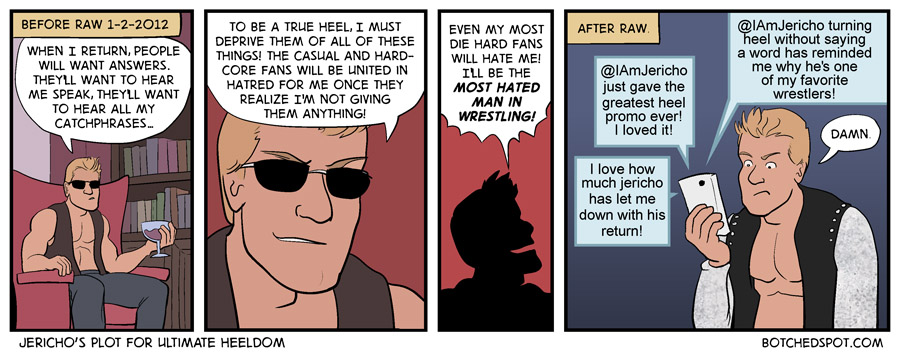 Jericho's Plot for Ultimate Heeldom