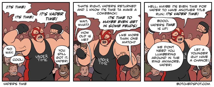 Vader's Time