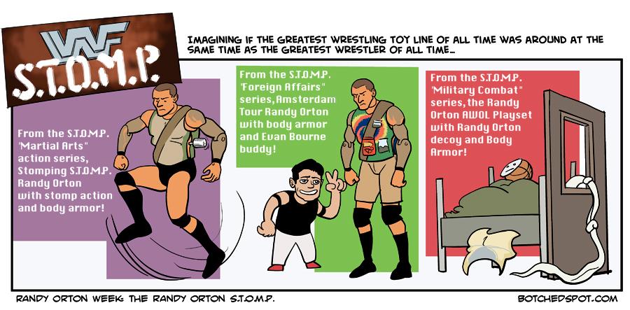Randy Orton Week: The Randy Orton S.T.O.M.P.