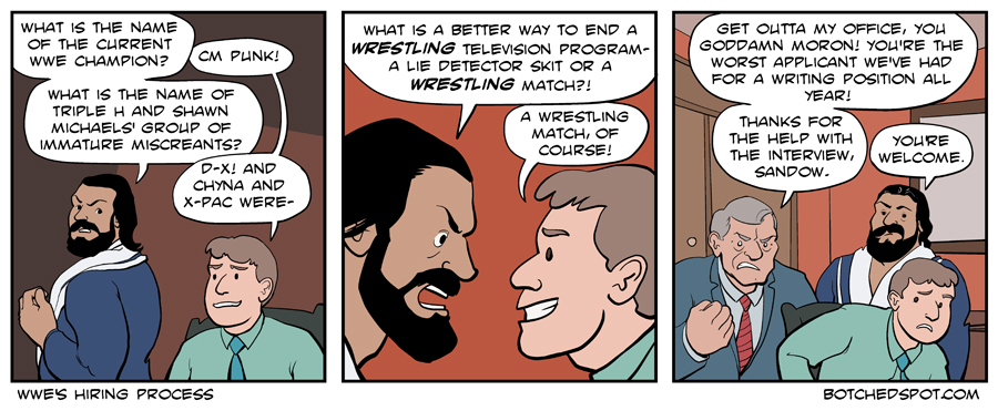 WWE's Hiring Process