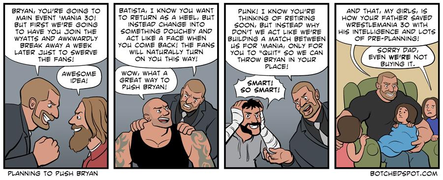 Planning to Push Bryan