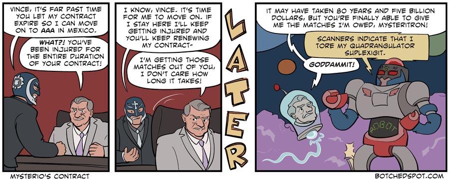 Mysterio's Contract