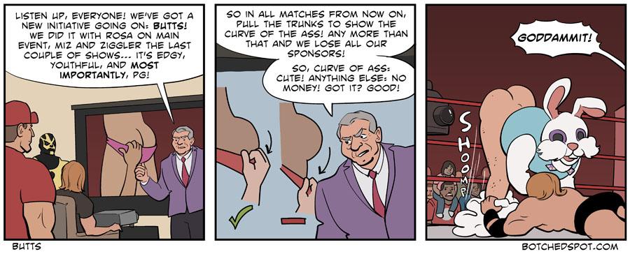 Humour et autres délires catchesques - Page 2 2014-09-24-butts