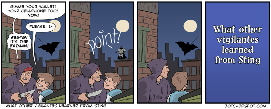 What Other Vigilantes Learned from Sting