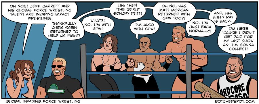 Global Invading Force Wrestling