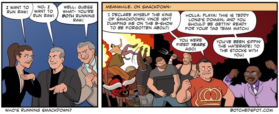Who's Running Smackdown?