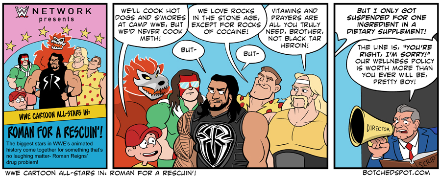 WWE Cartoon All-Stars In: Roman for a Rescuin'!