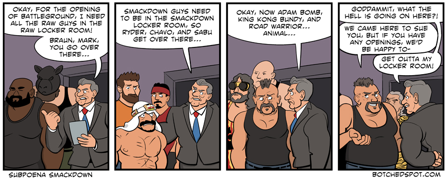 Subpoena Smackdown