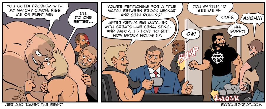 Jericho Tames the Beast