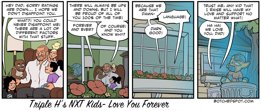 Triple H's NXT Kids- Love You Forever