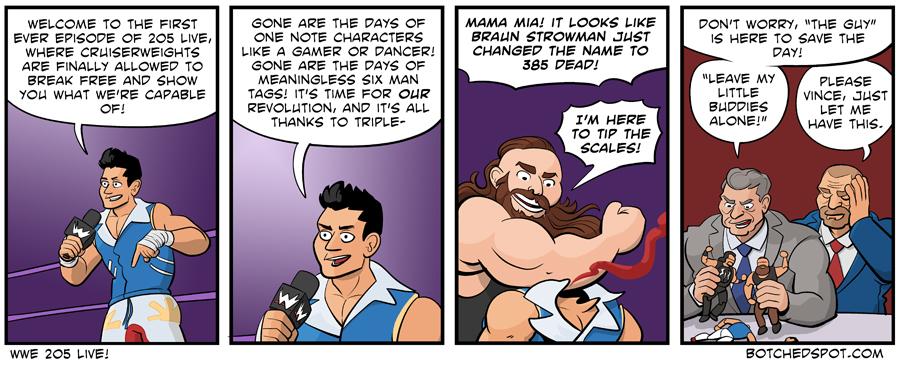 WWE 205 Live!