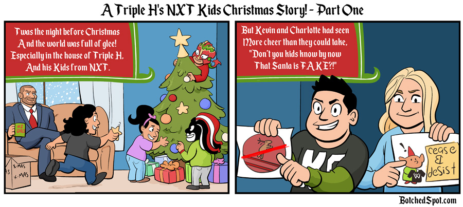 A Triple H's NXT Kids Christmas Story, Part One!