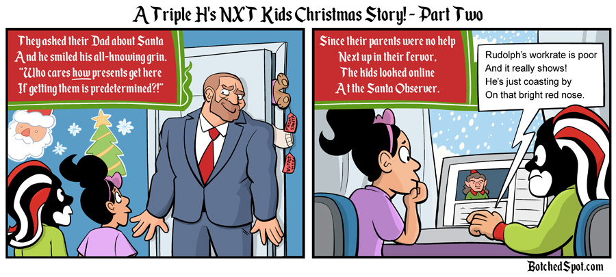 A Triple H's NXT Kids Christmas Story, Part Two!