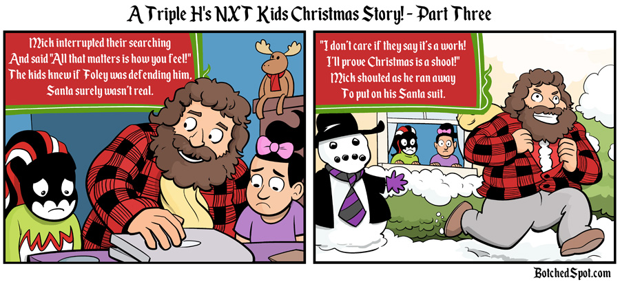 A Triple H's NXT Kids Christmas Story, Part Three!