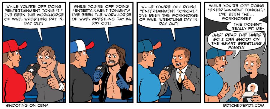 Shooting on Cena
