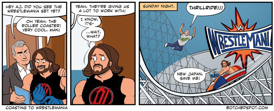 Coasting to Wrestlemania