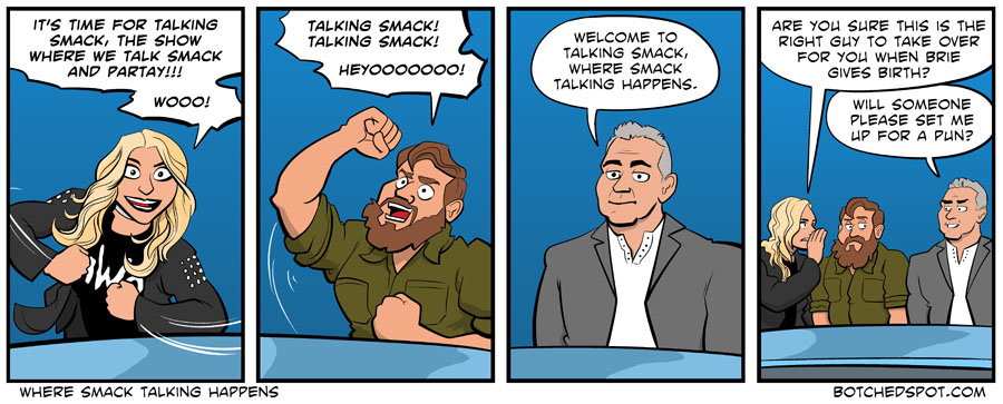 Where Smack Talking Happens