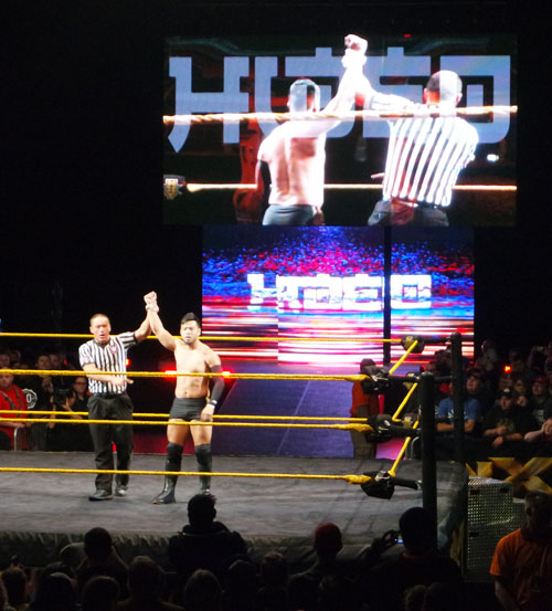 NXT Hideo