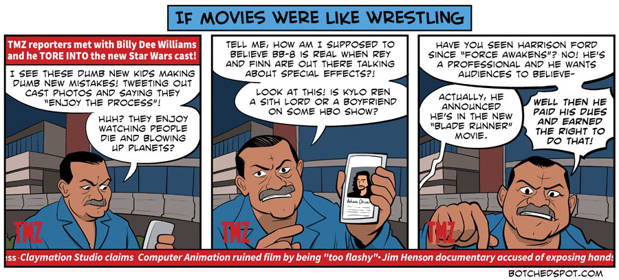 If Movies Were Like Wrestling