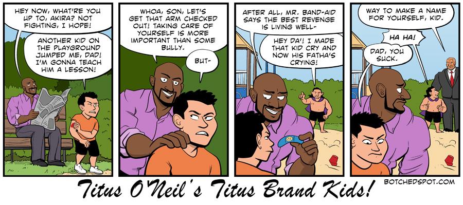 Titus O'Neil's Titus Brand Kids