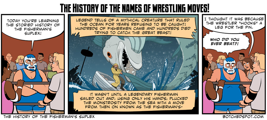 The History of the Fisherman's Suplex