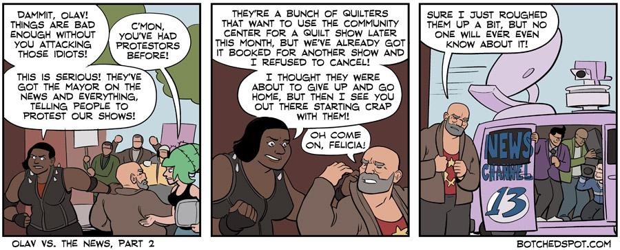 Olav vs. The News, Part 2