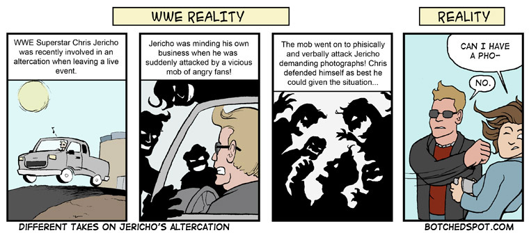 Different Takes on Jericho's Altercation