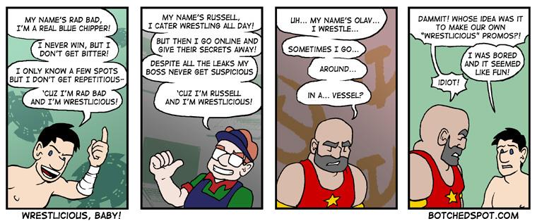 Wrestlicious, Baby!