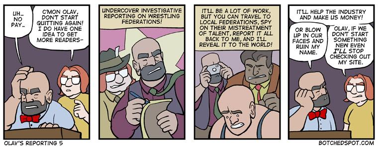 Olav's Reporting 5