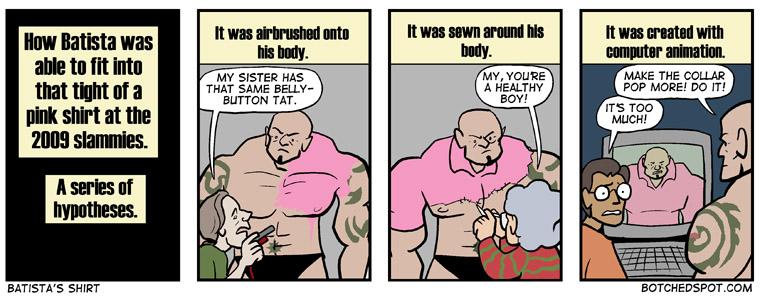Batista's Shirt