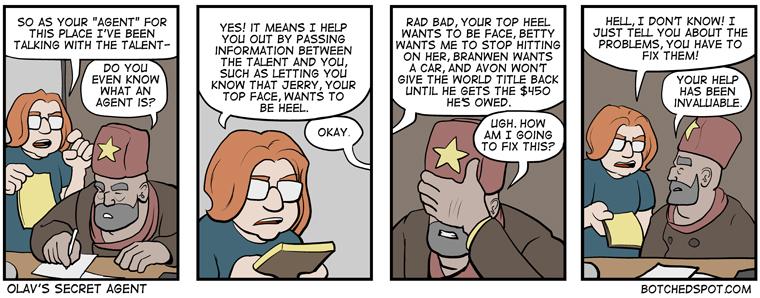 Olav's Secret Agent