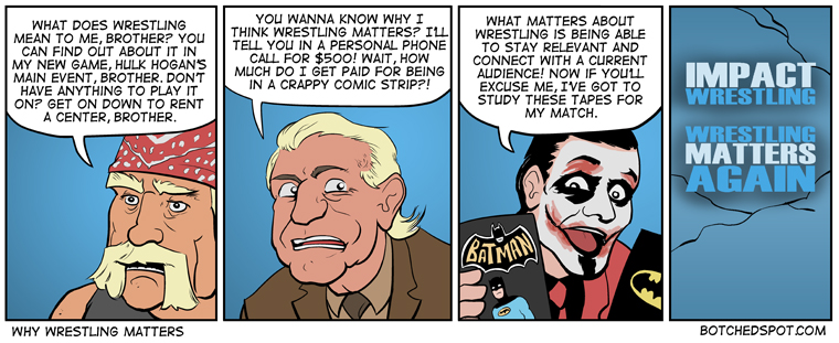 Why Wrestling Matters