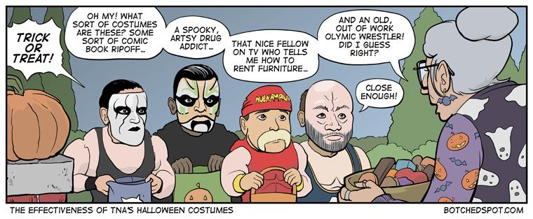 The Effectiveness of TNA's Halloween Costumes