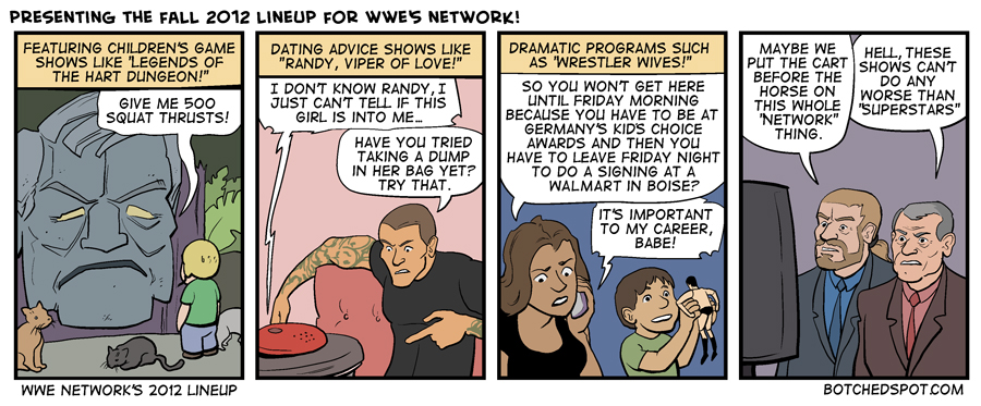 WWE Network's 2012 Lineup