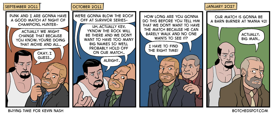 Making Excuses for Kevin Nash