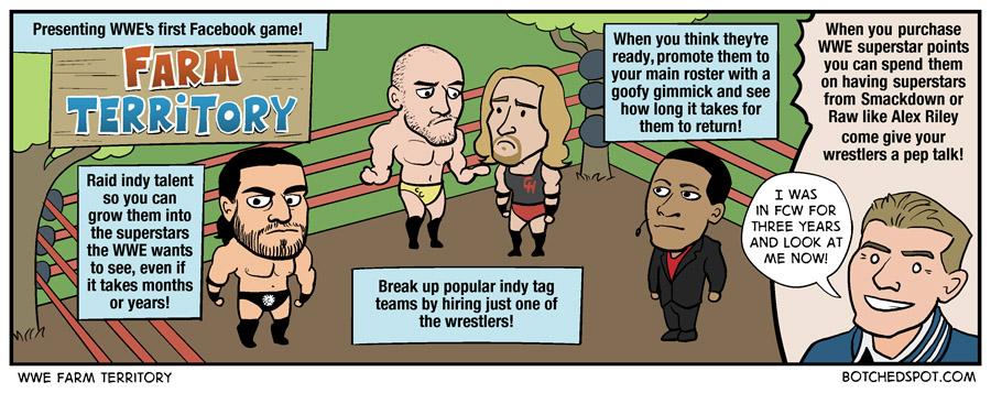 WWE Farm Territory