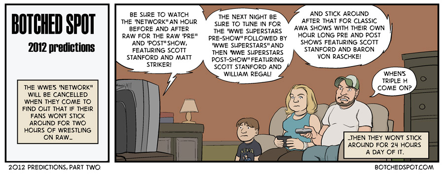 2012 Predictions, Part Two