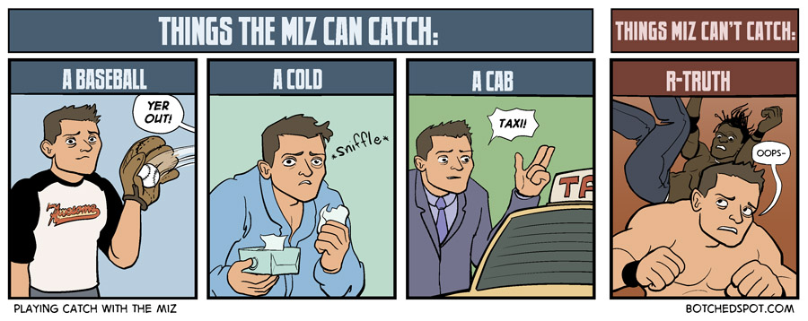 Playing Catch with The Miz