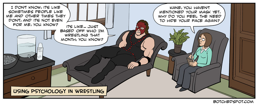 Using Psychology in Wrestling