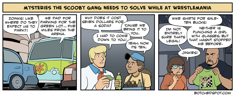 Mysteries the Scooby Gang Needs to Solve While at Wrestlemania