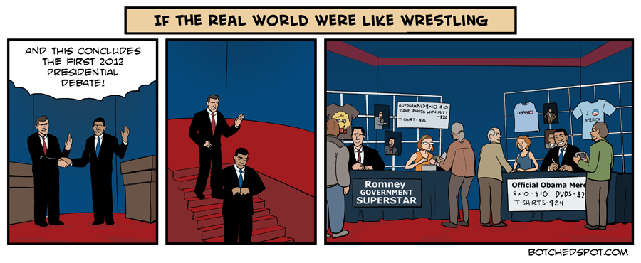 If the Real World were like Wrestling