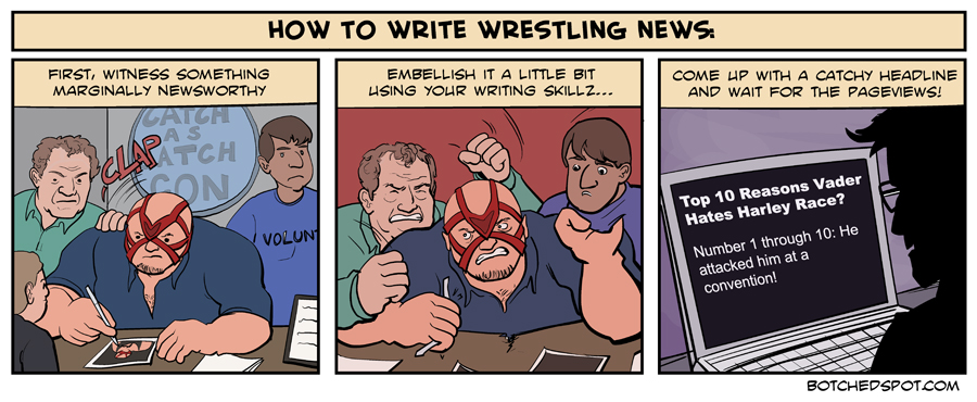 How to Write Wrestling News
