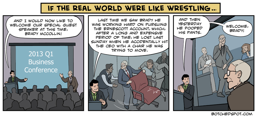 If The Real World Were Like Wrestling (Featuring Video Packages!)