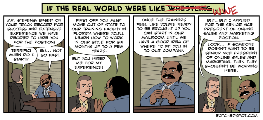 If The Real World Were Like WWE (featuring the Hiring Process!)