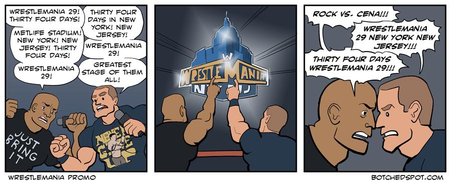 Wrestlemania Promo