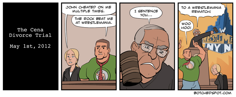 The Cena Divorce Trial