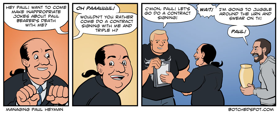 Managing Paul Heyman
